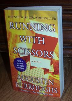 RUNNING WITH SCISSORS by Augusten Burroughs A Memoir PB Book ** COMBINE SHIPPING ONLY $1 ** @Listia.com