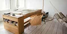 The Desk That Transforms Into a Bed