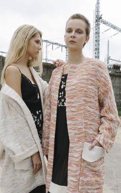 NARCISS S/S17 PolarisCoat, Mata Coat www.narcissfashion.com #NARCISSfashion #smartfashion #spring #summer #trendalert  #ootd #styleinspiration #fashioninspo #coat