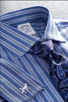 BB shirt tie combo.
