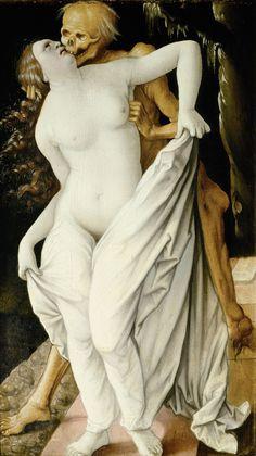 Death and the Maiden, Hans Baldung Grien, 1518-20