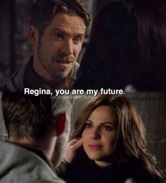 I still crying Once upon a Time. Regina and Robin Once Upon A Time Funny, Once Up A Time, Emilie De Ravin, Outlaw Queen, Movie Photo, I Movie, You Are My Future, Robin And Regina, Sean Maguire