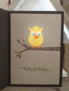 Margriet Creative: Owls Card