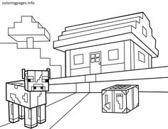 13 Best Coloring Sheet Images Minecraft Coloring Pages