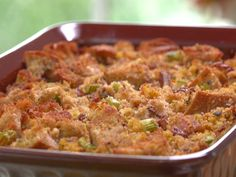 Country Cornbread Dressing with Pecans Recipe : Jamie Deen : Food Network - FoodNetwork.com  : I want to make this for our Thanksgiving @vindula