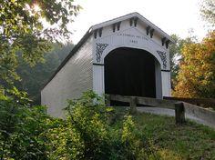 Richland Creek Covered Bridge,  Greene County, IN