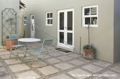 enclosed patio with square pavers and gravel floor worksheet worksheet for kids worksheet student Gravel Patio, Cement Patio, Patio Roof, Pea Gravel, Backyard Pavers, Concrete Patios, Pergola Roof, Concrete Garden, Wood Patio
