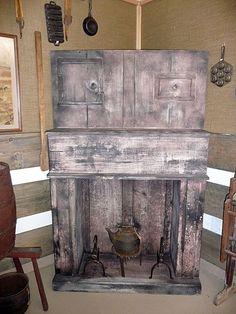 primitive fireplace   Primitive Fireplace