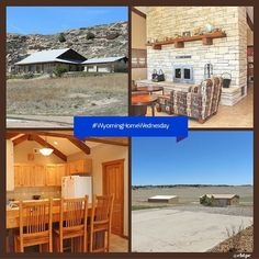 Totally custom built #WyomingHomeWednesday Lime Stone Ranch Style 2180 sq.ft. home on 640 acres. Built in 2006 with outstanding fire place greeting you as you walk in the living room. Awesome dining room with large windows facing the bluff which is breath taking. The attached 2 car garage is finished & heated. The office has FIBER Optics with 100Mb FTTH & the storage room completes this prefect house. General Steel 40x70 12 foot tall building.  #realestate #cbtpe #bluffs