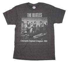 Beatles Cavern Club T-Shirt - Gray - Small