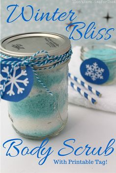 "Whether you're dealing with greasy, ashy, or scaly ""lizard"" skin, this All Natural Winter Bliss Body Scrub is for you! With the holidays around the corner, this Winter Bliss Body Scrub is perfect for gift giving, too!"