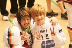 Onew♡taemin♡MBC Idol Star Olympic☆