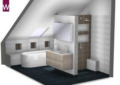 66 best 3D badkamer ontwerpen images on Pinterest | Showroom ...
