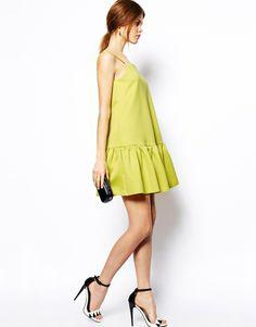ASOS Peplum Hem Cami Dress http://asos.to/RiAMw6