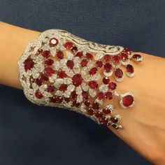 SAYING GOODNIGHT WITH MY FAVORITE DAVID MORRIS PIGEON BLOOD BURMA  RUBY AND WHITE DIAMOND BRACELET!!! Doesn't get any better than this!!!! @davidmorrisjeweller ❤️❤️❤️❤️❤️❤️❤️❤️❤️❤️❤️❤️❤️