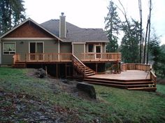 Multi Level Deck Design Ideas, Pictures, Remodel, and Decor - page 3