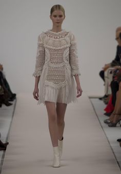 Naughty Gal Shoes : Gorgeous Fashionable look from Valentino fashion show runway selections