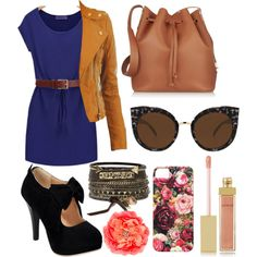 Day by acmalheiro on Polyvore featuring polyvore fashion style Sophie Hulme BKE Barneys New York Quay AERIN