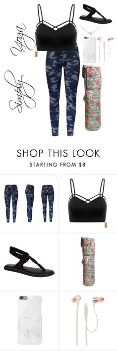 """""""Untitled #88"""" by style-koala ❤ liked on Polyvore featuring Lotto, sanuk, Peace Love World, JBL and Minnie Grace"""