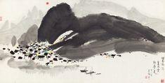 Wu Guanzhong: Li River in Splashed Ink | China Online Museum