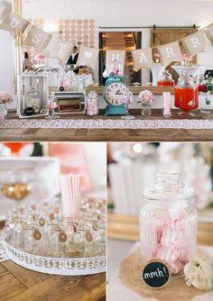 Hochzeit auf der Maisenburg Vintage Mädchen Hochzeit
