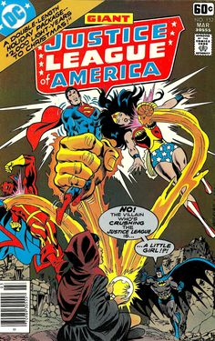 Justice League of America #152 (1978) - Cover by Rick Buckler and Jack Abel, 1978.