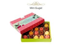 20 Mini Gugel €18,90.  So schenkt man heute!  #present #macarons #illustration #sweets #sweetcouture