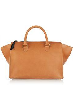 Clare V   Sandrine leather tote   NET-A-PORTER.COM