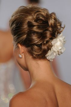 Wedding hair opgestoken