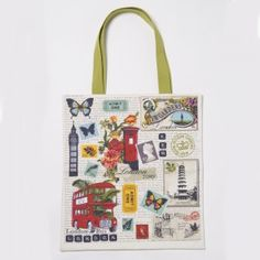 London Collage Bag