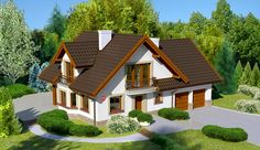 Home Fashion, Exterior, Cabin, Mansions, House Styles, Home Decor, Minecraft, Iron Gate Design, Country Houses