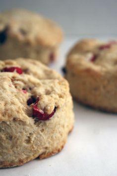 whole wheat lemon cranberry biscuits   bakeologybylisa.com