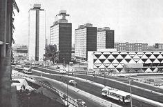 Ciudad Habitacional Nonoalco-Tlatelolco, México, DF 1964-1966 Arq. Mario Pani en colaboración con Luis Ramos  City Housing Nonoalco-Tlatelolco, Mexico City 1964-1966 Architect Mario Pani in collaboration with Luis Ramos