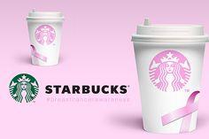 STARBUCKS - Breast Cancer Awareness Packaging Design on Behance