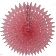 4.20euros - rosace papier rose - Sous le lampion