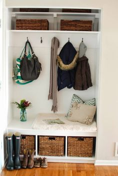 19 best front hall closet organization images entryway closet rh pinterest com