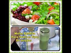 Molho Perfeito Para Todos os Tipos de Saladas com Déby & Ian - YouTube