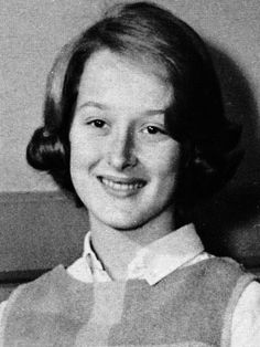 Meryl's freshman yearbook photo at Bernards High School in Berdardsville NJ, 1964