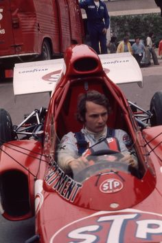 Niki Lauda GP Monaco March-Ford 1972