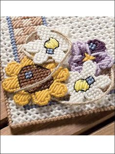**Free Patterns for ALL 3 Flowers**
