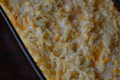 Cracker Barrel s Hashbrowns Casserole--must try! I don't know if this is Cracker Barrel's actual hash browns casserole recipe, but it is close. This recipe can feed a large crowd and is good for a brunch. Potato Dishes, Potato Recipes, Food Dishes, Side Dishes, Veggie Recipes, Vegetarian Recipes, Penne, Great Recipes, Favorite Recipes