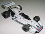 F1 Paper Model - 1975 German GP Brabham BT44 Paper Car Free Template Download