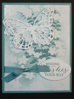 Today I fly out to Orlando for Stampin' Up!'s Leadership~ this happens to be the card I made to swap while I am there. I love the Irresistibly Yours Specialty Designer Series Paper. You can give this paper the look...