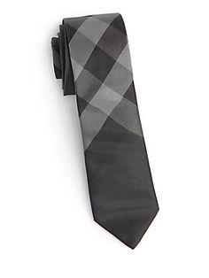 Burberry Boy's Silk Check Tie