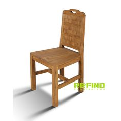 Reclaimed teak wood dining side chair exporter and manufacturer from Indonesia. Reclaimed Wood Furniture, Teak Wood, Side Chairs, Dining Chairs, Home Accessories, Stool, Home Decor, Decoration Home, Room Decor