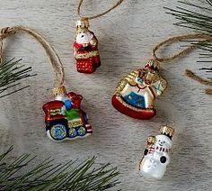 Christmas Ornaments & Christmas Tree Ornaments   Pottery Barn