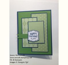 FMS95-Birthday card by stampingdietitian - Cards and Paper Crafts at Splitcoaststampers
