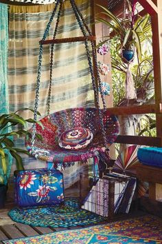 Balkon Hängematte Afrikanisch   Originell   Kunterbntes Design