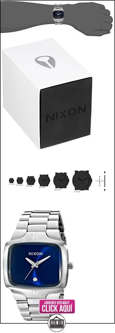 Nixon The Player A1401258-00 - Reloj analógico de cuarzo unisex, correa de acero inoxidable color plateado  ✿ Relojes para hombre - (Gama media/alta) ✿ ▬► Ver oferta: http://comprar.io/goto/B00ALS2AV8