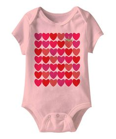 Take a look at this Pink Strawberry Heart Bodysuit by American Classics on #zulily today!